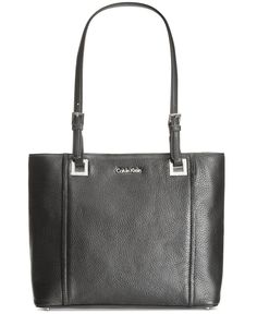 Calvin Klein Key Items Pebble Tote