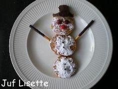 sneeuwpop van poffertjes