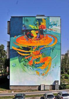 walls 2012 by robert proch, via Behance
