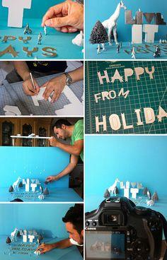Live it - Happy Holidays on Behance