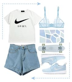 """""""Untitled #337"""" by jesycurves ❤ liked on Polyvore featuring NIKE and La Perla"""