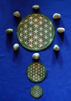 Flower Of Life Grid Cloth April 2017