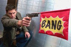 CW: Supernatural - Hunteri Heroici Looney Tunes Style