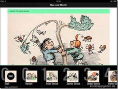 Neue Max und Moritz Kinderbuch App | iPad