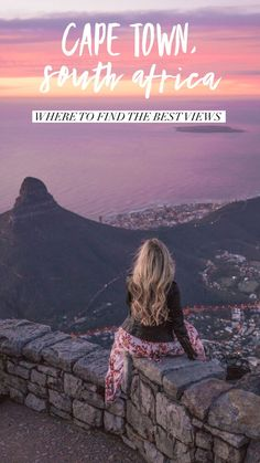 The Best Views in Cape Town For Epic Photos - Live Like It's the Weekend Visit South Africa, Cape Town South Africa, Africa Destinations, Holiday Destinations, Travel Destinations, Road Trip, Epic Photos, Travel Guides, Travel Tips