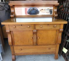 antique empire buffet