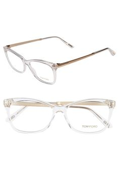 Tom Ford 54mm Optical Glasses available at  Nordstrom Óculos Gucci, Oculos  De Sol, a6d122b8cc