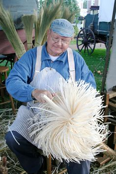 Directions for making brooms