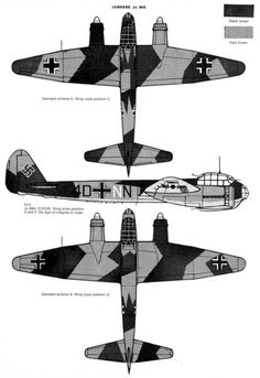 Luftwaffe Bomber Camo & Markings 1940 Vol. 1 Page