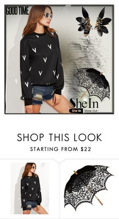"""SheIn 001"" by silvijo ❤ liked on Polyvore featuring Remedios and Marni"