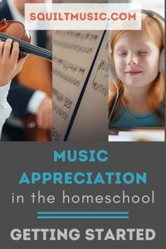 Music Appreciation in the Homeschool: Getting Started Benefits Of Homeschooling, Homeschool Curriculum Reviews, Music Education Lessons, Physical Education, Teaching Music, Teaching Kids, Music For Studying, Music Activities, Elementary Music
