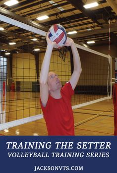 Volleyball setting drills usually involve setting balls from a coaches toss or from players passes. Developing correct footwork and hand setting technique...