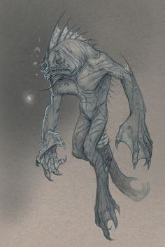 creatureblacklagoon by stillenacht