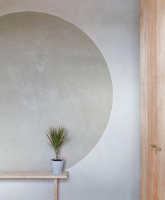 100% natural clay wall | paredes arcilla natural