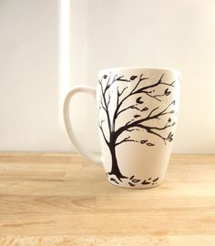 Inspirational Mug  Single Hand Painted Mug The by ThePaintedMug, $16.95