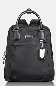 'Voyager - Ascot' Convertible Backpack by Tumi - Found on HeartThis.com @HeartThis | See item http://www.heartthis.com/product/337546640461400093/