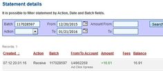 AdClikXpress Withdrawal Proof no 28 after RESTART I am getting paid daily at ACX and here is proof of my latest withdrawal. This is not a scam and I love making money online with Ad Click Xpress. Here is my Withdrawal Proof from AdClickXpress. I get paid daily and I can withdraw daily. Online income is possible with ACX, who is definitely paying - no scam here.I love to work in ACX.Thanks for online work.  http://linksas.us/bpi