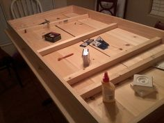build your own kitchen table DIY wholesome and homemade : kitchen table love...