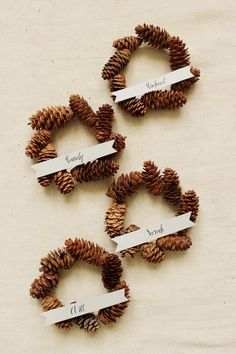 DIY Mini Pinecone Wreath Placeholder
