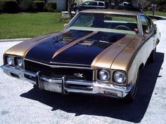1972 Buick GSX Tribute 455 stage 1 Buick Gsx, Old Muscle Cars, Buick Cars, Buick Skylark, Buick Regal, Grand National, Sweet Cars, Custom Cars, Cars And Motorcycles