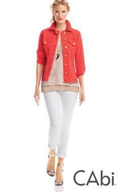 The coral jacket!