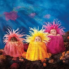 "Anne Geddes, a world-renowned Australian artist, went to creative lengths to theme her 2015 calendar around the magic of life ""under the sea"" to raise awareness of the risks to the Great Barrier Reef."
