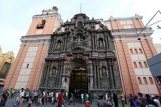 Frontis de la Iglesia de La Merced