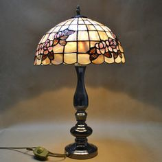 Online Shop 12-inch dual- Rose Table Lamp Tiffany lamps natural shell work and study European study bedroom lamp bedside lamp|Aliexpress Mobile