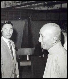 Wong Shun Leung with Yip Man