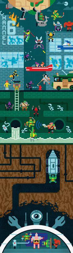Have a great Easter weekend everyone! Tmnt, Gi Joe, Ninga Turtles, Marvel Cross Stitch, Turtles Forever, Otaku, Cartoon Crazy, Geek Games, Geek Art
