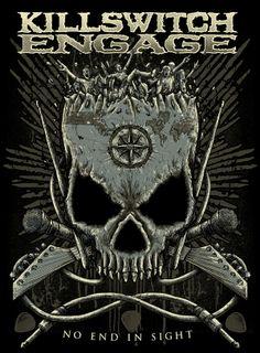 Killswitch Engage by TROCKZ ART, via Behance