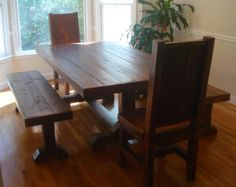 Popular items for trestle table on Etsy