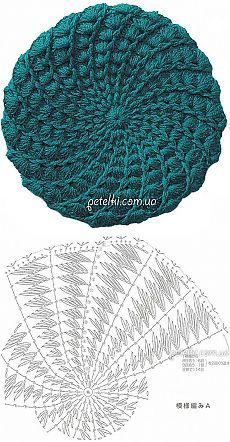 Bonnet Crochet Crochet Beanie Hat Scarf Hat Beanie Hats Knitted Hats Sombrero A Crochet Knitted Flowers Crochet Stitches Patterns Crochet Art Crochet Beret Pattern, Crochet Baby Bonnet, Crochet Cap, Booties Crochet, Crochet Diagram, Crochet Stitches Patterns, Doily Patterns, Crochet Beanie, Knitted Hats