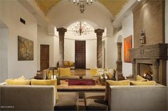 GRACEFUL SPANISH COLONIAL COMPOUND | LUXURY HOMES