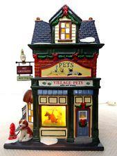 """Dept56 Snow Village """"Village Pets - Sales & Service"""""""