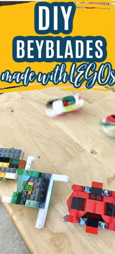 Make your own DIY Beyblade using LEGOs. This is an easy project for any LEGO or Beyblade lover that will provide hours of fun and creativity. via @clarkscondensed Upcycled Crafts, Diy And Crafts, Make Your Own, Make It Yourself, Summer Fun For Kids, Frugal Family, Crafty Craft, Diy Craft Projects