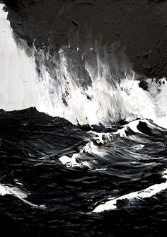 Werner Knaupp - Westmannerinseln (2011) - Acrylic on canvas