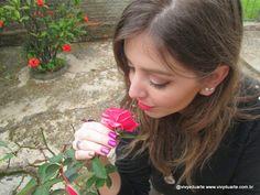 Vivy Duarte: Esmalte da Semana: Purple Nails