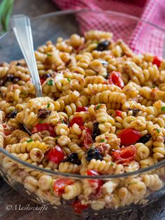 Italian Dishes, Italian Recipes, Vegetarian Recipes, Healthy Recipes, Salty Foods, Eat Smart, Food Cravings, Finger Foods, Pasta Salad