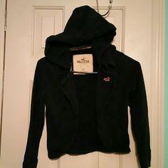 Hollister short sweat jacket (224) Hollister navy blue short sweat jacket American Eagle Outfitters Tops Sweatshirts & Hoodies