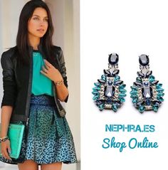 ¡¡¡ Domingo de Puente !!! ...Perfecto para las compras online ✌ Te esperamos a ti en ➡️➡️www.nephra.es⬅️⬅️  Estos pendientes son increíbles : Y por solo 7€!!  #puente #ootd #outfit #pendientes #pendientesxl #Pendientesjoya #Pendientesmaxi  #Nephra #Moda #tendencia #Estilo #azul #bisuteria #chic #chicas #FelizDomingo