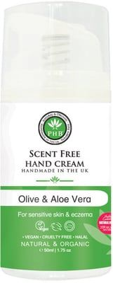 PHB Ethical Beauty Crème Sans Parfum pour les Mains - 50 ml
