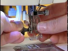 Learn how to use select presser feet including the All-Purpose Foot, Zipper Foot, Blind Hem Foot, Button Sewing Foot, Darning & Embroidery Foot, Open Toe Foot, Edge-Joining Foot, Pintuck Foot and many more!