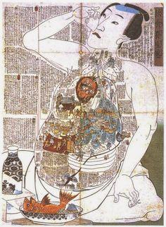 Image result for tanden hara japanese art