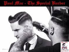 #rockabilly #gent #barber  #oldschool #menshair #trends #paulmacspecial #irishbarber #barbershop #barberskills  #hairdressing #stylist #menshair2014 vintagebarber #dapper to see more of my work please check out my facebook mens style page https://www.facebook.com/PaulMacSpecialEdition