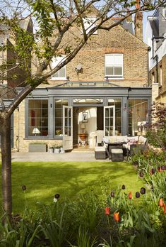 Garden room extension How to add a conservatory or sunroom Orangery Extension Kitchen, Orangerie Extension, Kitchen Orangery, Conservatory Extension, Cottage Extension, Conservatory Design, House Extension Design, Extension Designs, Kitchen Extension Exterior