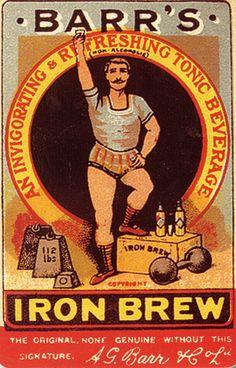 Barr's Iron Brew original advert