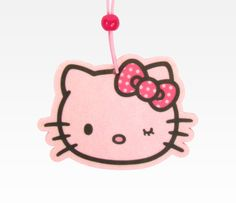 Hello Kitty Vanilla Air Freshener: Fresh