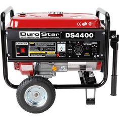 Gas Powered Generator Portable Electric Start RV Home Back Up Camping Quiet 4400 Best Portable Generator, Gas Powered Generator, Camping Generator, Emergency Generator, Diy Generator, Generators For Sale, Back Up, Rv Homes, Gas And Electric