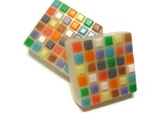 GET THIS UNIQUE Mosaic Tile Soap by KleanKristi on Etsy, originally $6.25, NOW @ 25% off with BLACKFRIDAY.  https://www.etsy.com/shop/KleanKristi